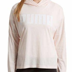 PUMA Urband Light Cover Up Hoodie Shirt Sz L
